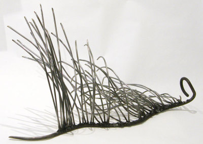 Bonnie A. Conly, Dance, Dance: New & reclaimed steel rods; welding. 2012, NFS.
