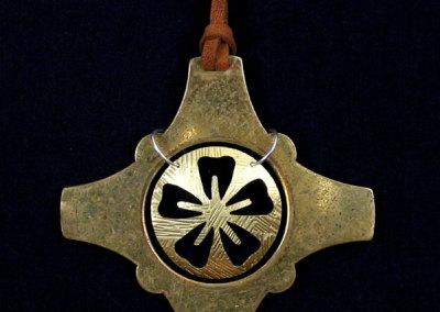 Brass Lotus Harware Pendant