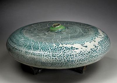 Vessel 17 (Mel Bolen), 2013: Salt glazed stoneware. $2,000