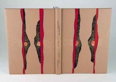 Histoire d'Ali Baba et de quarante voleurs extermine par une esclave (Cecile Cote), 2012: Fine Binding. PRIZE (J. Hewit & Sons Ltd.)