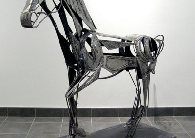 Outlook Pony (James Korpan & Dave Hicks),2013: Welded Steel. Collection of Mr. & Mrs. P Mapes