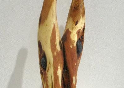 Spirit Horses (Paul Lapointe), 2012: Diamond willow and stone. $900