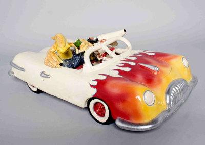 Grid Road Racer, 2009 - Jordan van Sewell - Ceramic, $2,400