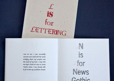 L is for Lettering