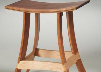 Bent Lam Concave stool