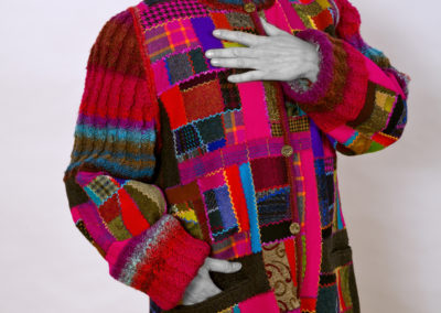 Coat by Cindy Hoppe. Photography by Gary Robins.