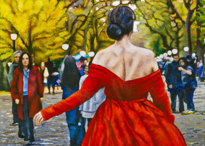 Lure of the Red Dress