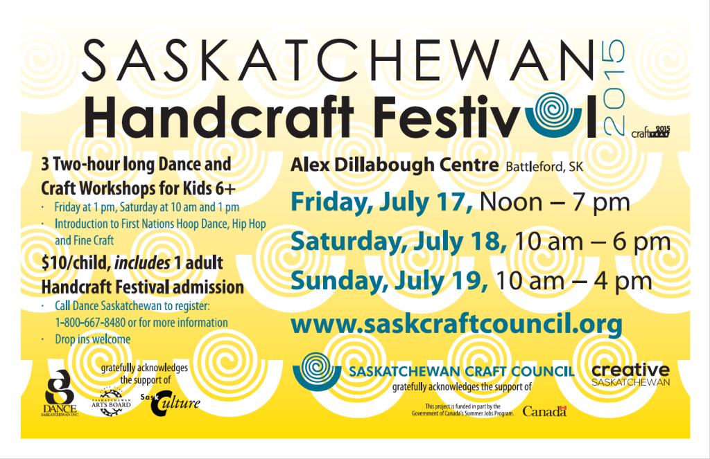 Saskatchewan Handcraft Festival Poster
