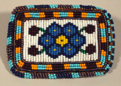 Beaded Card Holder - Susan Cook