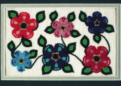 Beaded Flowers - Mary Ann Venne