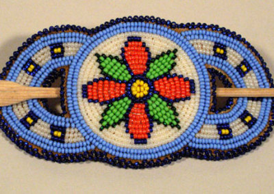 Beaded Hair Barrette 1 - Unknown Artist