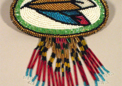 Beaded Hair Barrette 2 - Jean McLeod