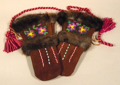 Beaded Mitts - Margaret Bouvier