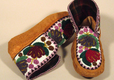 Beaded Moccasins 10 -