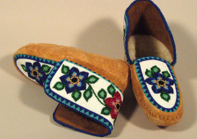 Beaded Moccasins 11 -