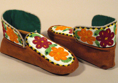 Beaded Moccasins 12 -