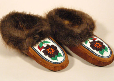 Beaded Moccasins 1 -
