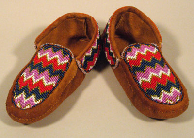 Beaded Moccasins 2 -