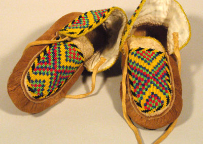 Beaded Moccasins 3 -