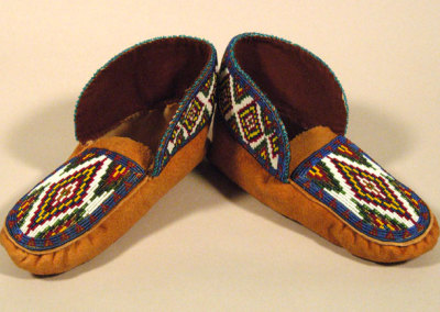 Beaded Moccasins 5 -