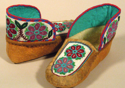 Beaded Moccasins 6 -
