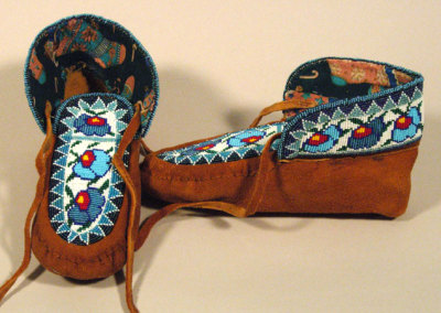 Beaded Moccasins 7 -