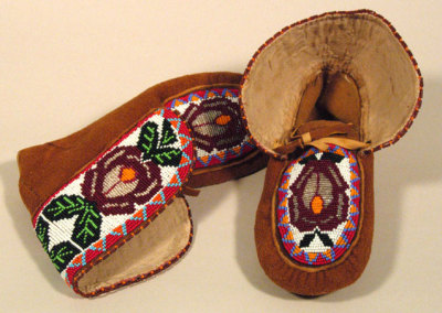 Beaded Moccasins 8 -