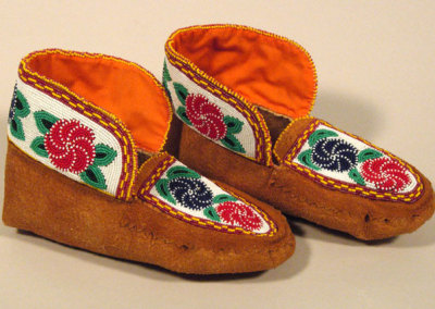 Beaded Moccasins 9 -