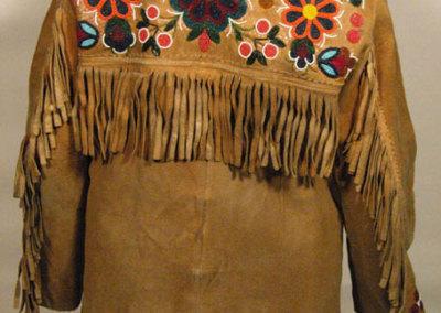 Floral Beaded Jacket Back - Annie Halkett