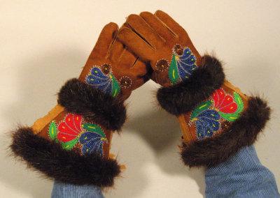 Gauntlet Gloves - Caroline John