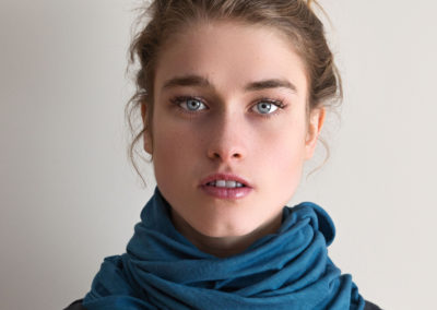 Scarf by Kathleen O'Grady for grady bleu®. Photography by Kerrie Oliver.