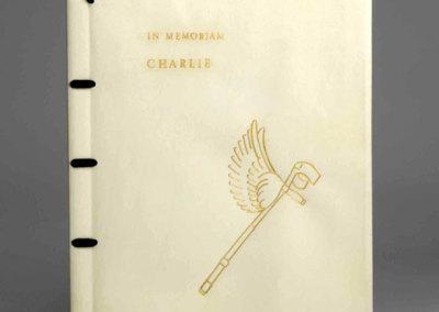 In Memorium, Charlie - Keith Valentine