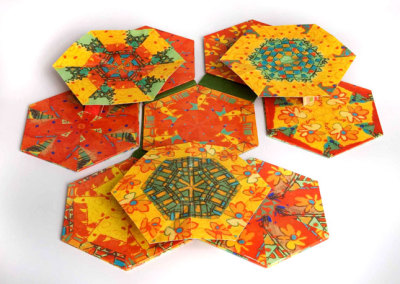 Kaleidoscope Colour! A Moveable Quilt - Marilyn Janas