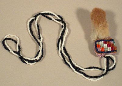 Rabbit Foot Charm Necklace - Unknown Artist