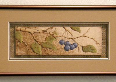Saskatoon Berries by Carmen Heinrichs