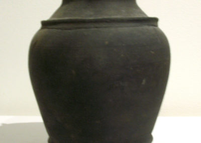 Majapahit relic - urn with Buddhist Stupa lid (Unknown artist): Terracotta - fired earthenware: $400