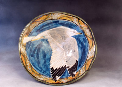 38. Seagull Bowl (Debra Kuzyk and Ray Mackie), 2016: Stoneware; hand-built. $750.