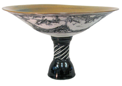 """4 - Footed Bowl"""