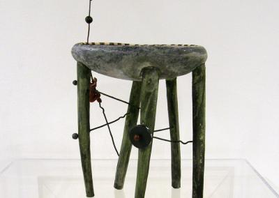 Dice Game (Anita Rocamora), 2014: Clay, glazes. $375