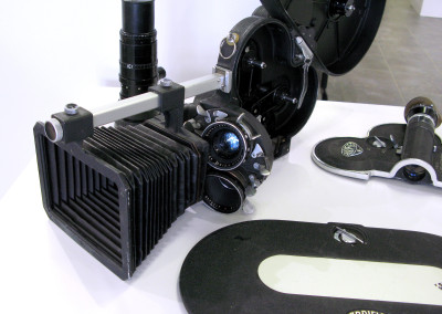 16mm Arriflex 16s Movie Camera with four lenses