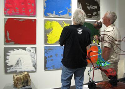 Arthur Perlett, Emma Bound curator with guest