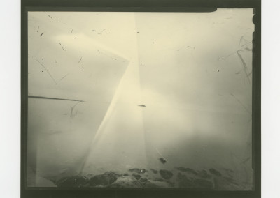 "Barbara Reimer ""nes (skgaströnd)"" 2015. Archival inkjet enlargement; Pinhole negative and prints developed onsite in coffee. $500"