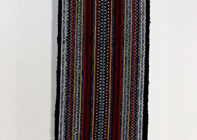 Sash in Ukrainian style (Malcolm Benson-Dyke), 2017: 2/16 Wool – Multi-coloured; plain weave. NFS