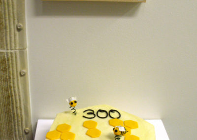 300th Exhibition Celebration Cake