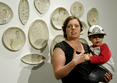 Artist: Carole Epp at Reception & Artists' Talk
