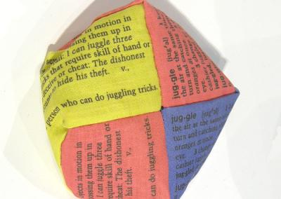 Word Play (Cathryn Miller), detail