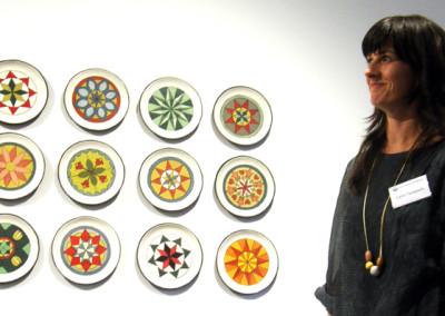 Artist: Cathy Terepocki at Reception & Artists' Talk