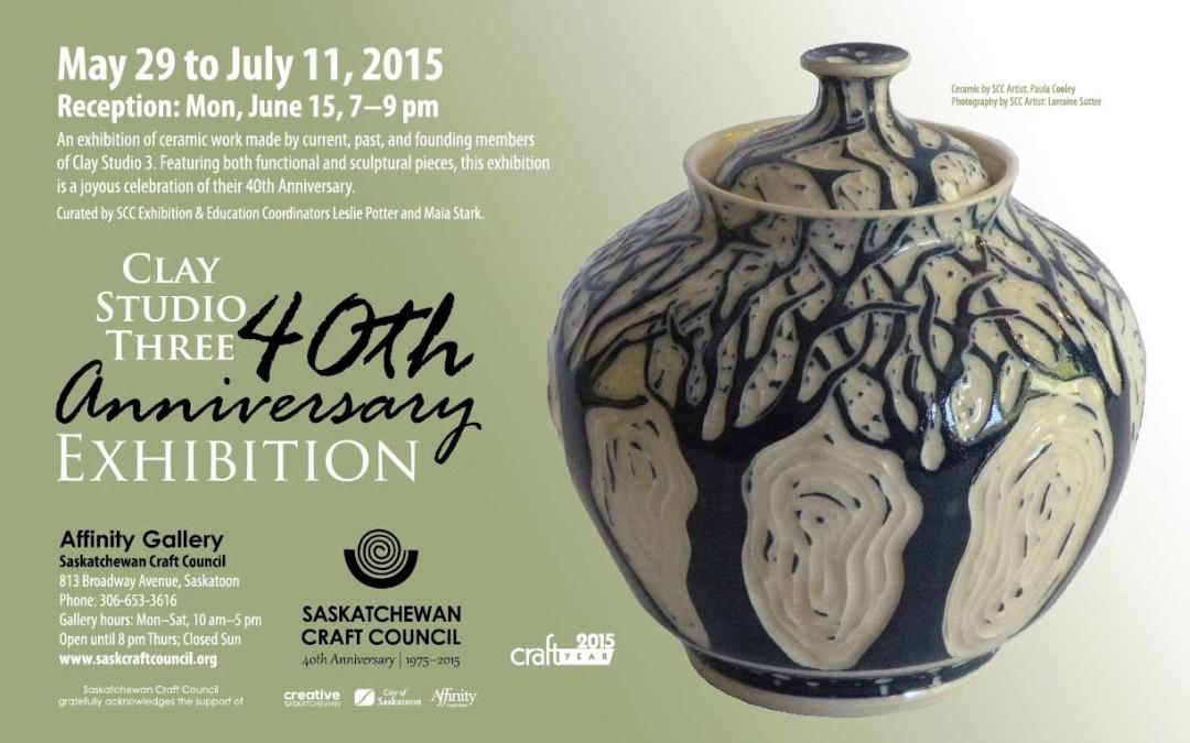 Curatorial Statement: Clay Studio Three 40th Anniversary Exhibition