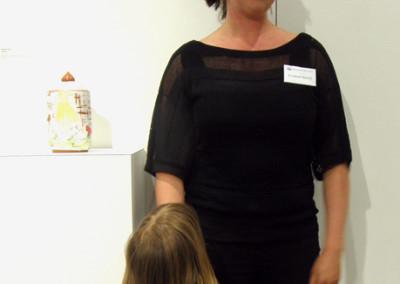 Artist: Elizabeth Burritt at Reception & Artists' Talk