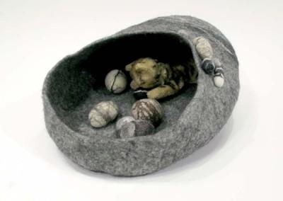 "Heike Fink ""Cat Cave"" 2015; $250"